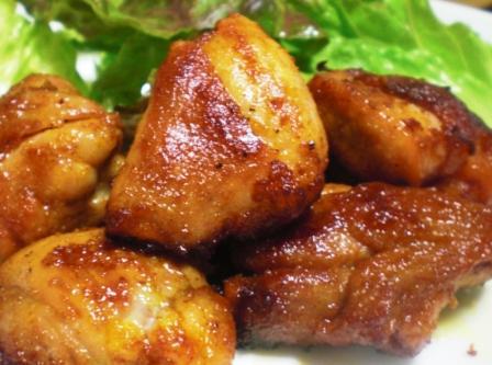 カレー味チキンステーキ0531