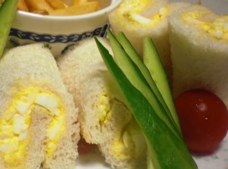 卵サンド 拡大