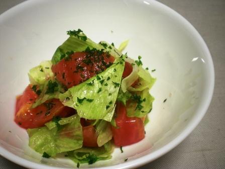 トマトとレタスサラダ(B)