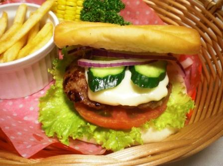 ハンバーガー(B)