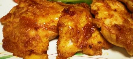 鶏胸肉のケチャップ焼き 拡大