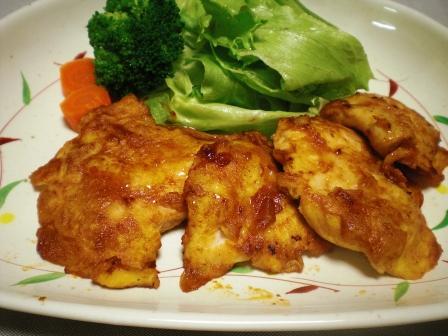 鶏胸肉のケチャップ焼き(B)