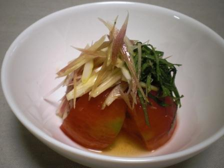 トマトの酢の物(B)