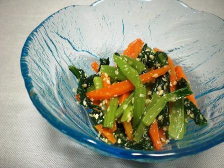 小松菜ナムル(青)