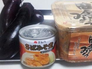 さば味噌缶 田楽材料