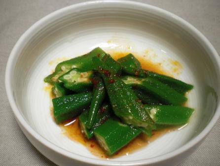 おくらの中華風サラダ