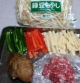 ザーサイ炒め材料