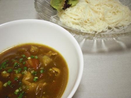 カレーつけ素麺(B)
