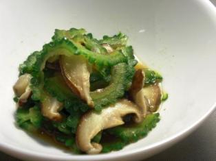 ゴーヤの中華風サラダ