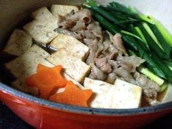 肉豆腐 ルクルーゼ