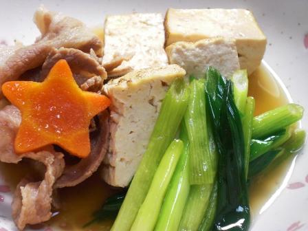 肉豆腐(豚肉)