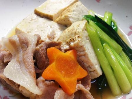 肉豆腐(豚肉)拡大