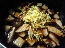 鰹の角煮 鍋
