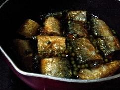秋刀魚煮込み