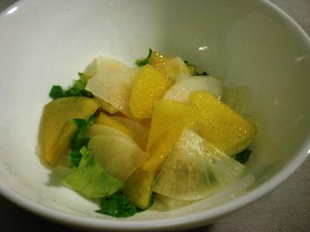 柿と大根のサラダ(B)