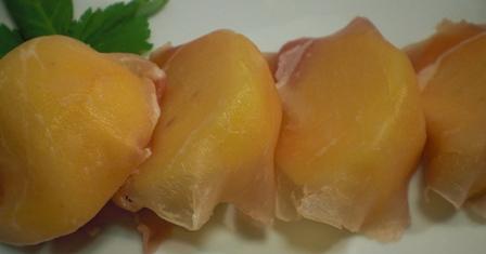 柿と生ハム(B)