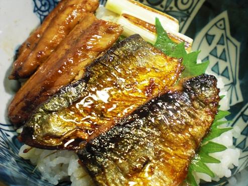 秋刀魚の蒲焼(B)