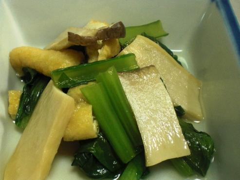 小松菜とエリンギの炊いたんB