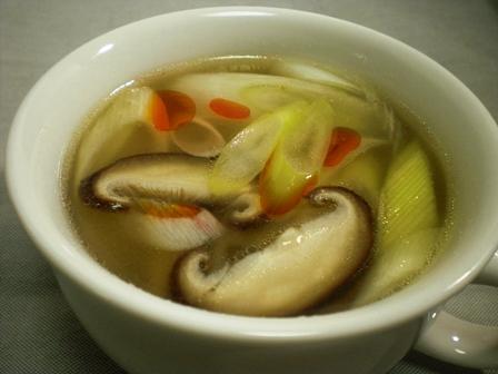 ねぎのサンラータンスープ(B)