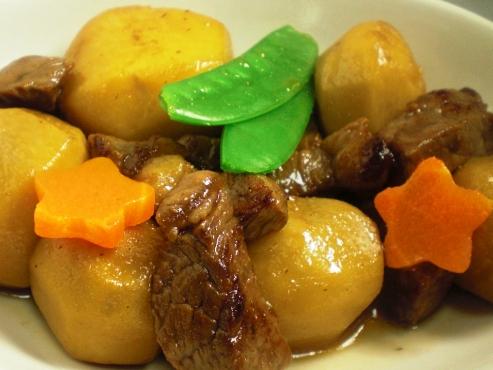 里芋と牛肉煮込み(B)