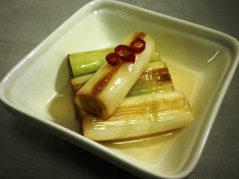 ねぎの甘酢(B)
