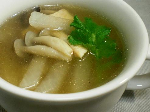 大根スープ大