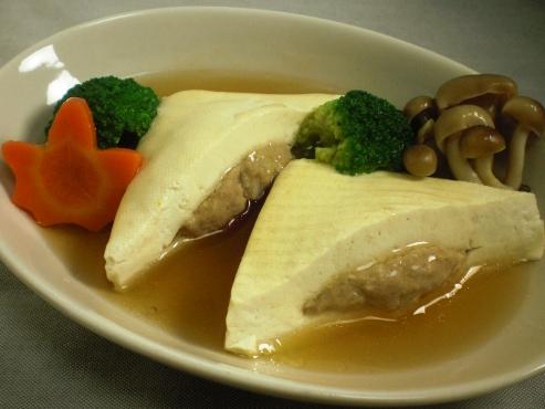 蒸し豆腐(B)