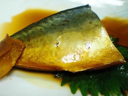 鯖の甘辛煮(B)