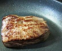 牛肉のたたき フライパン
