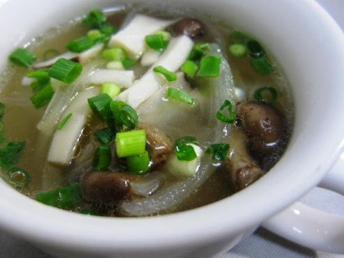 エリンギとうま茸のスープ(B)