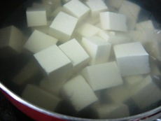 鶏麻婆豆腐⑤