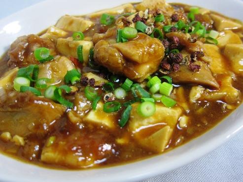 鶏麻婆豆腐大