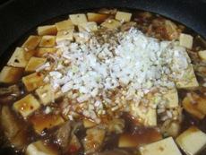 鶏麻婆豆腐⑥