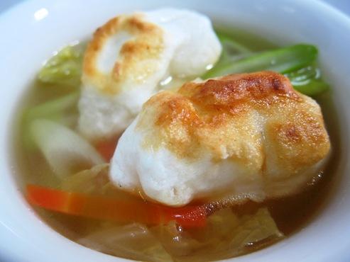 焼き餅のスープ大