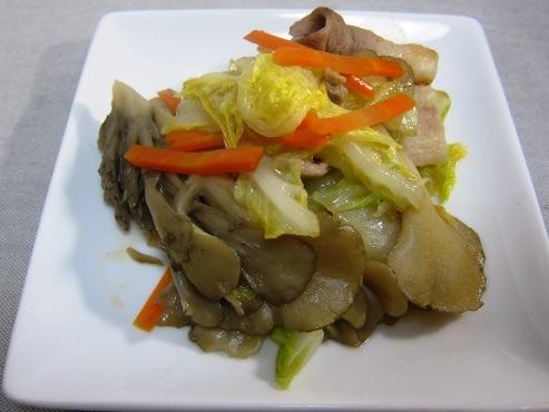 白菜と舞茸炒め(B)