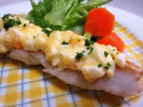鱈のマヨたま焼き(B)
