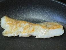鱈マヨフライパン