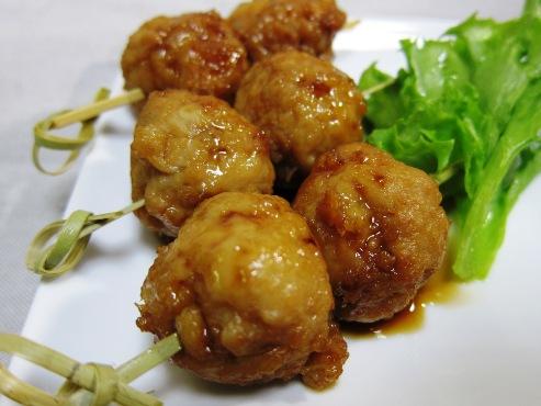 鶏つくねの照り焼き(B)