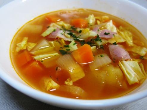 ミネストローネ風スープ(B)