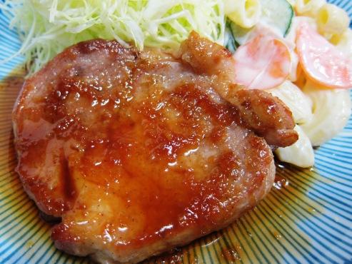 豚ロースの生姜焼き大①
