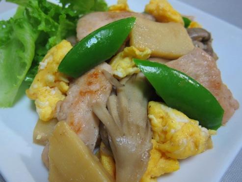 鶏胸肉のあっさり炒め 大