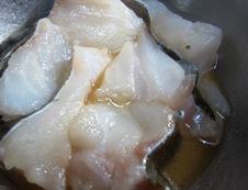 白身魚の野菜あんかけ 鱈下味