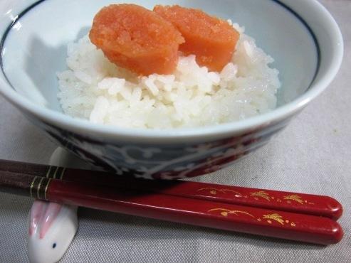 博多中洲 むかいの明太子&ご飯