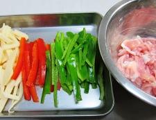 豚肉の辛味噌炒め 材料