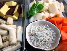 ごろごろ根菜のきんぴら 材料