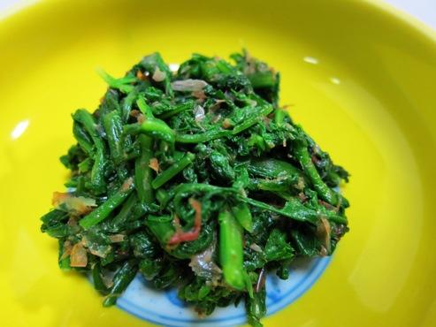 菊菜のおひたし