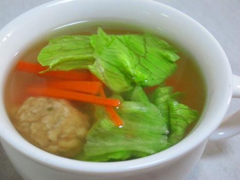 レタスとにんじんのスープ(B)