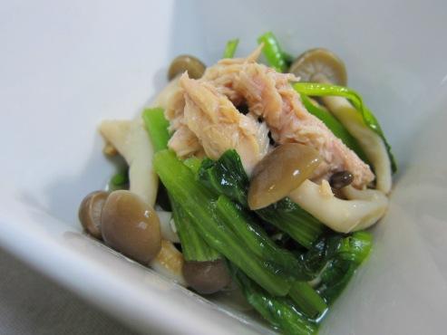 小松菜とツナの炊いたん(B)
