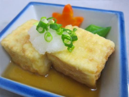 揚げ出し豆腐(B)