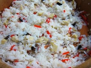 菜の花 ちら<br />し寿司 寿司飯